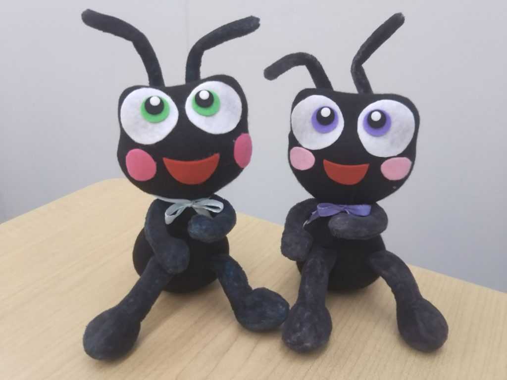 【蟻のママ劇場】vol.4 幼稚園で お友だちに…